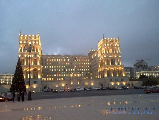 Как встречают Новый год в Баку?
