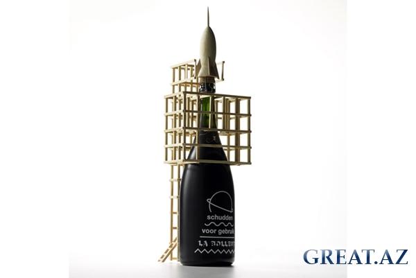Рекламная кампания шампанского Zarb